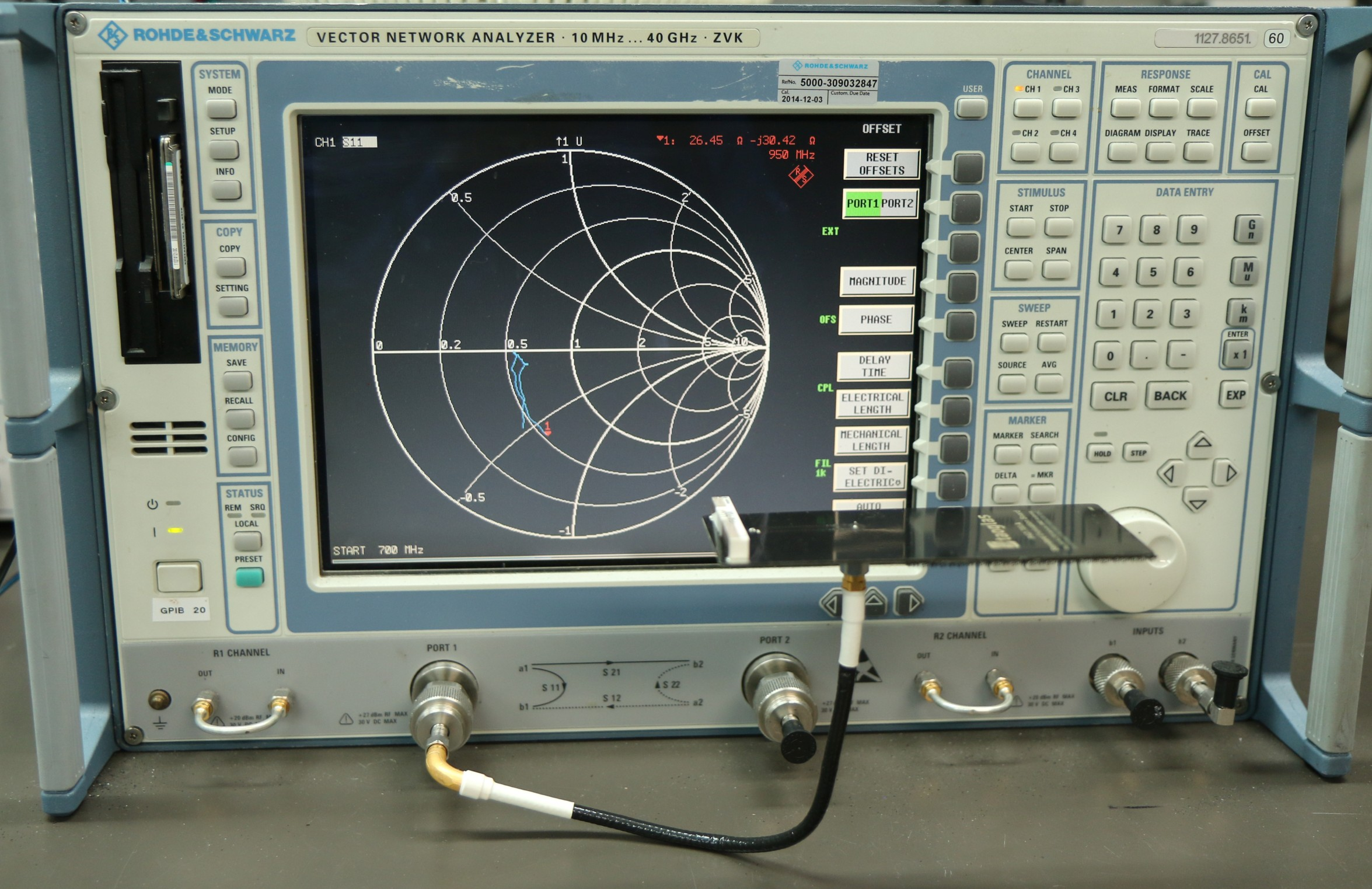Return Loss and VSWR - Antenna Test Lab Co