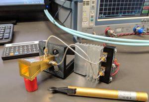 Ka-Band-Sector-Horn-3D-Radiation-Gain-Pattern-Testing-in-Anechoic-Chamber-Setup