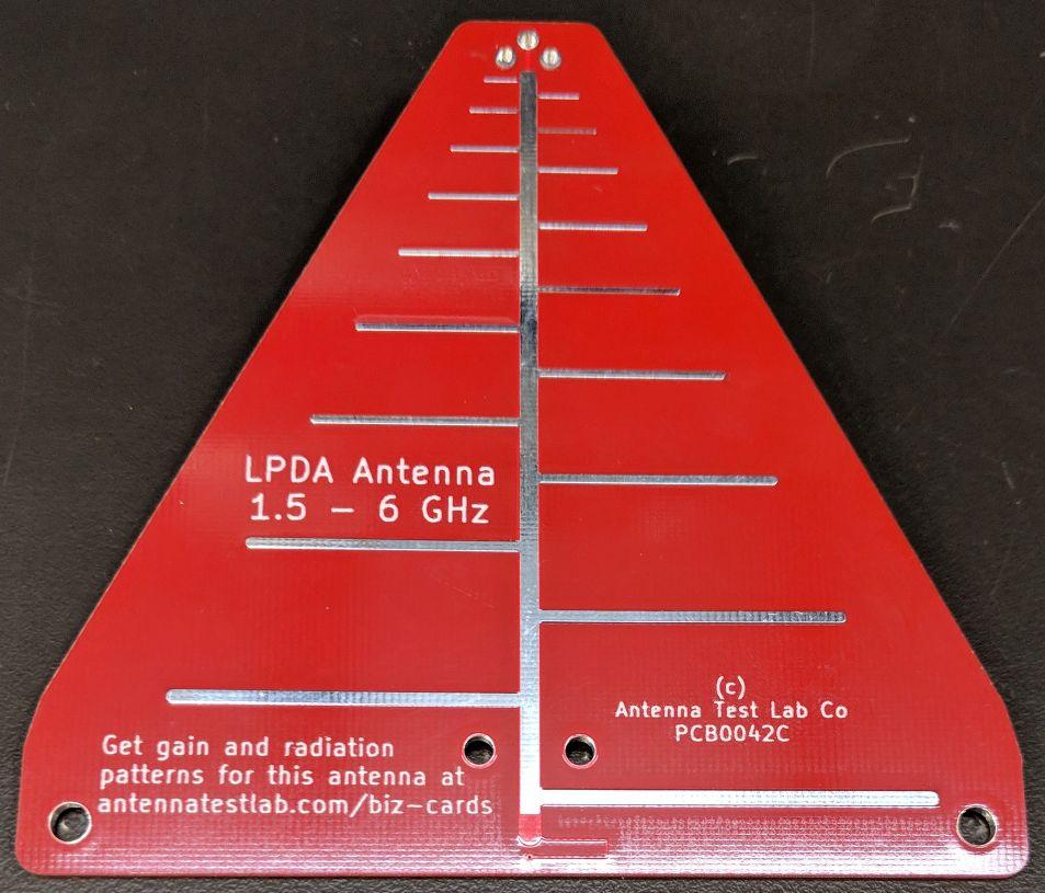 PCB0042 Log Periodic Dipole Array Antenna PCB Gain Printed Circuit Board
