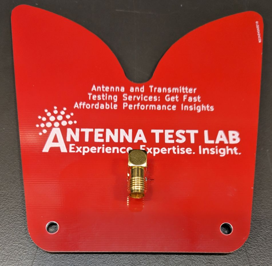 PCB0045 Vivaldi Broadband PCB Antenna Gain Efficiency VSWR Tested In Chamber