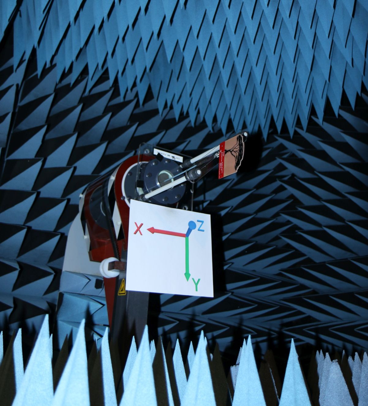 PCB0048A Tree Shape Antenna Tested in Anechoic Chamber 3D Spherical Radiation Pattern Gain in dBi 2