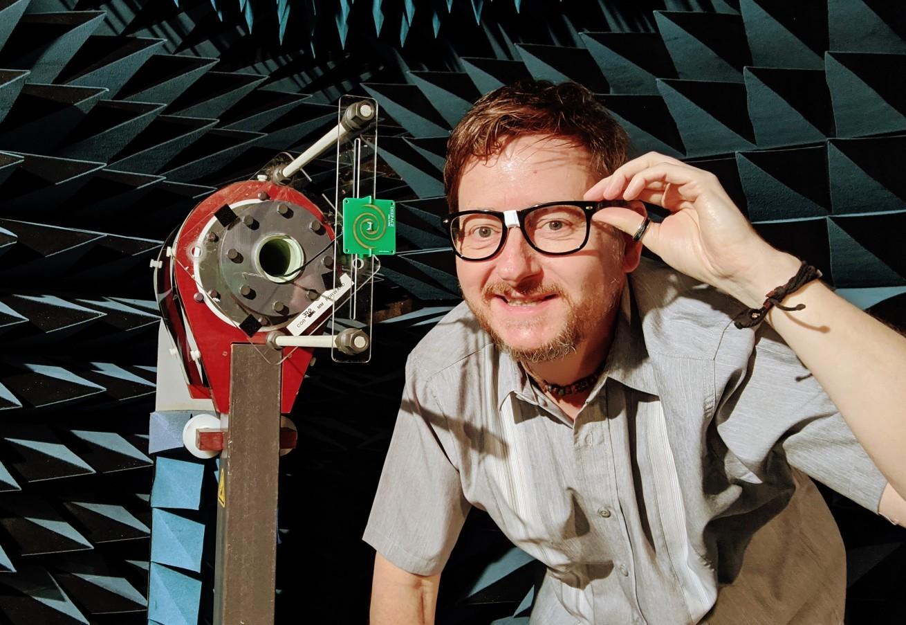 Glenn Robb RF Engineer at Antenna Test Lab Co Nerd Glasses
