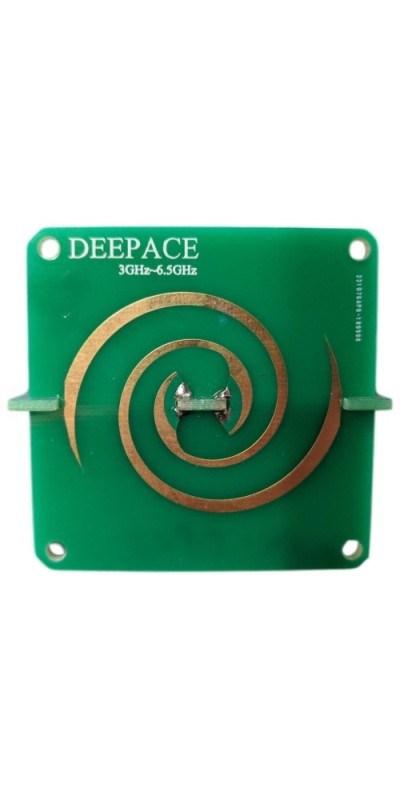 Spiral Antenna PCB for UWB Front Icon DEEPACE