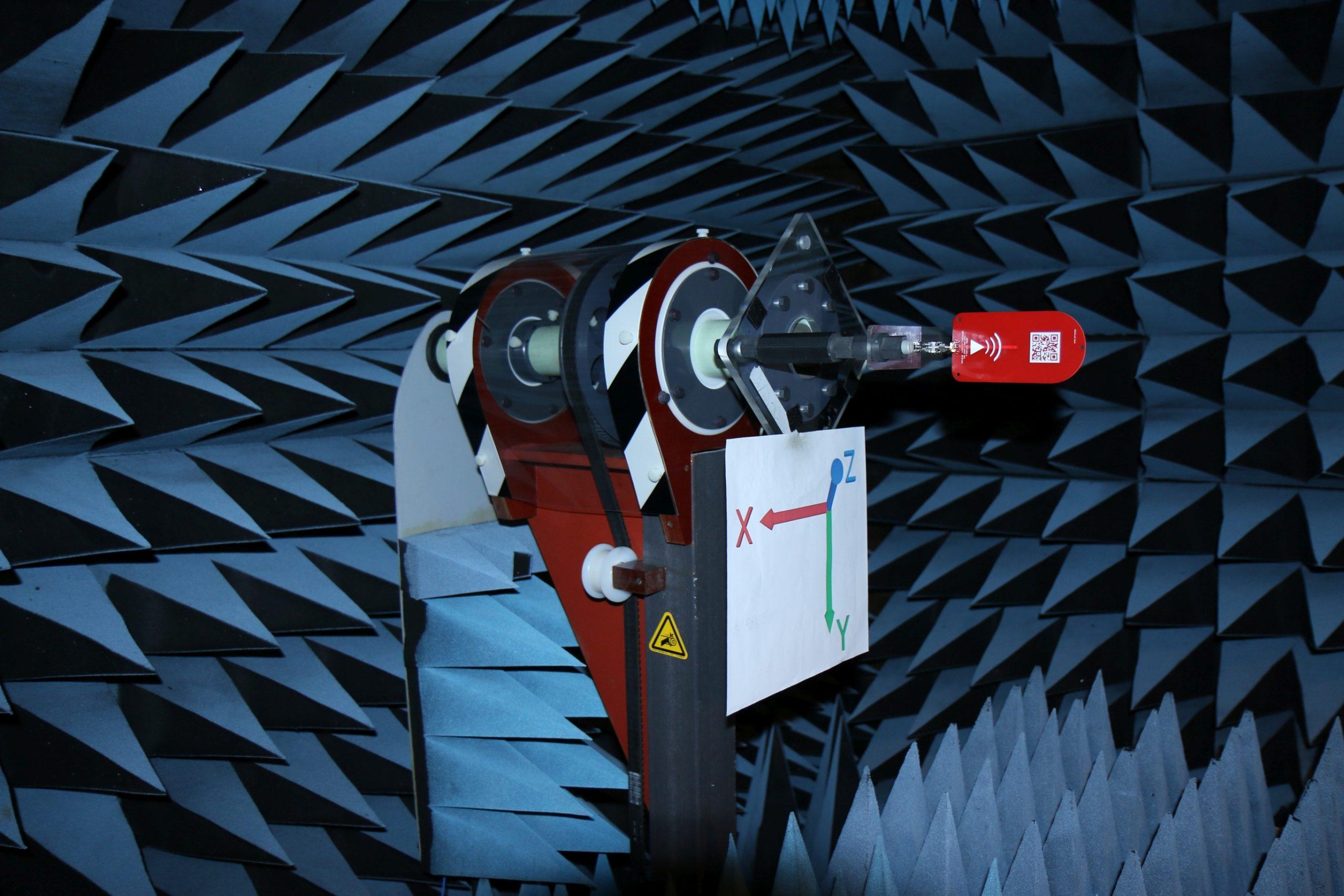 RFSpace DIP1400A Gain Testing Setup Performance Testing