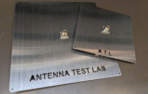 Antenna Test Ground Plane with Type-N Connector Square